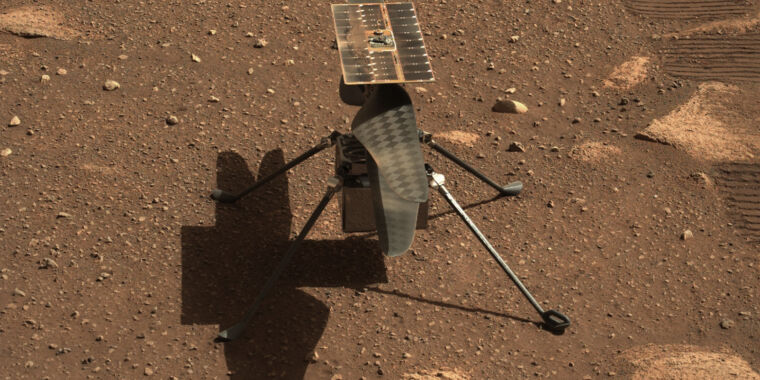 NASA mengatakan helikopter Mars-nya siap untuk penerbangan bersejarah pertamanya