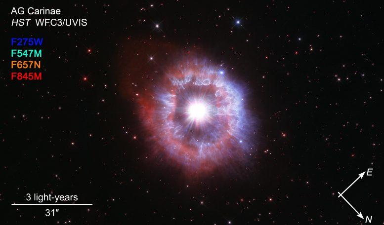 Kompas AG Carinae