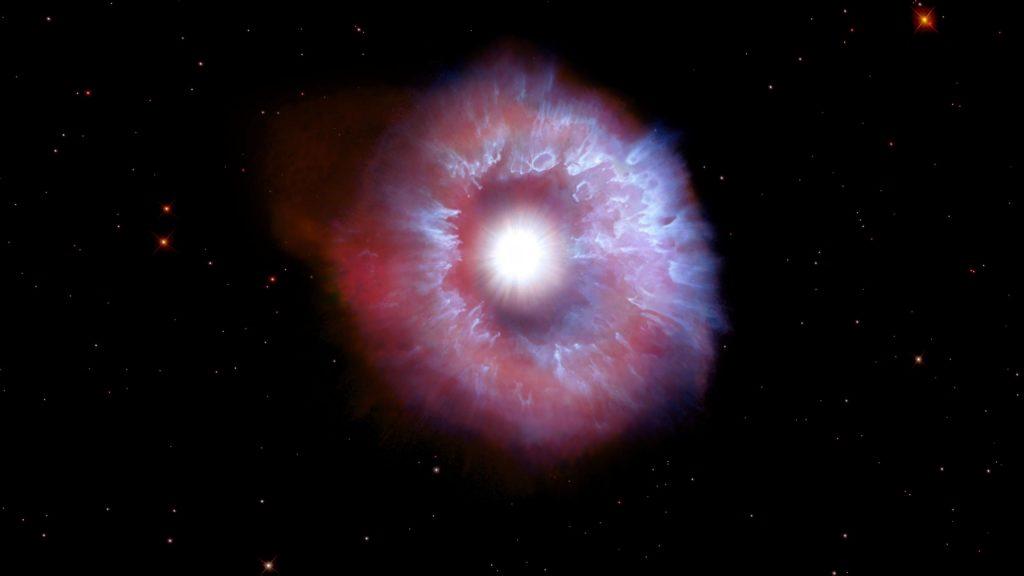 Hubble menangkap bintang raksasa panas di ambang kehancuran - bersinar dengan kecemerlangan sejuta matahari