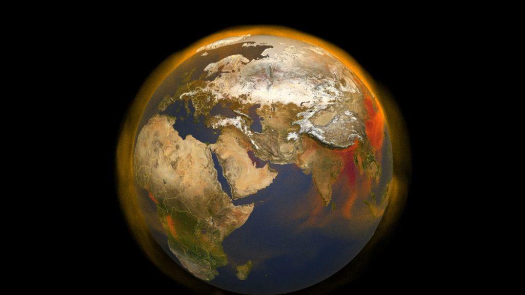 Perubahan iklim telah menyebabkan Bumi bergeser dari porosnya