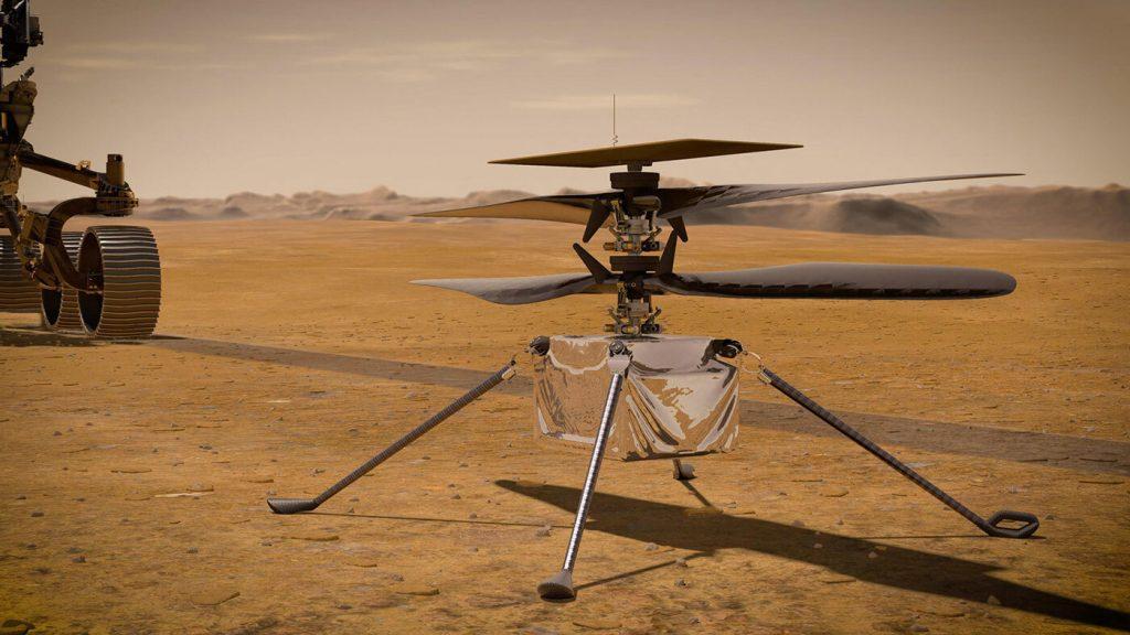 NASA Memperluas Rencana Helikopter di Mars: NPR