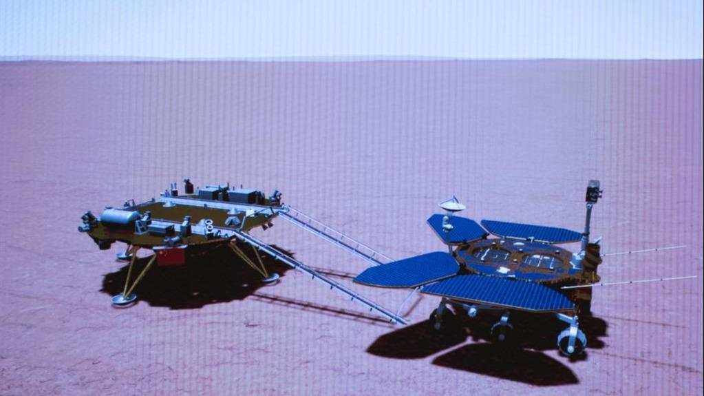 Pesawat luar angkasa China pertama di Mars mulai menjelajahi planet merah