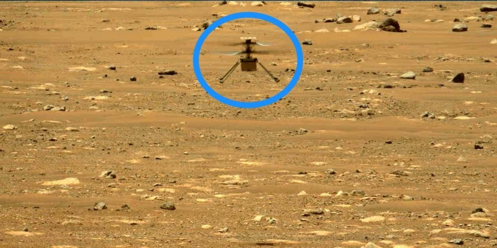 Helikopter Mars inovatif NASA akan melakukan penerbangan ekstra yang berani minggu ini