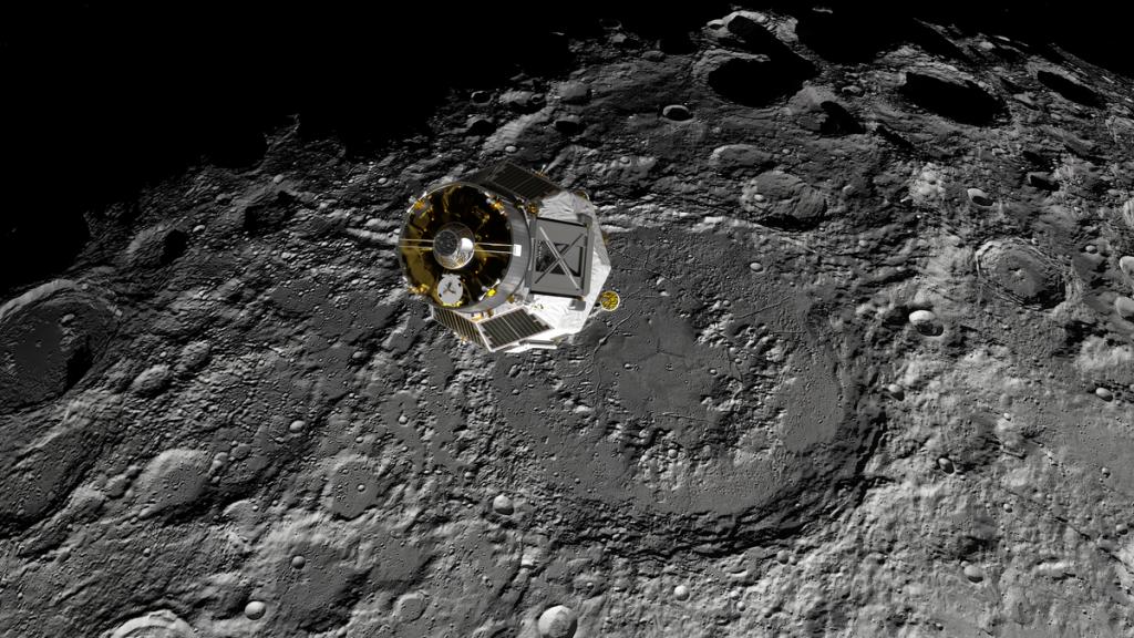 Badan Antariksa Eropa menyusun rencana untuk Jaringan Satelit Bulan