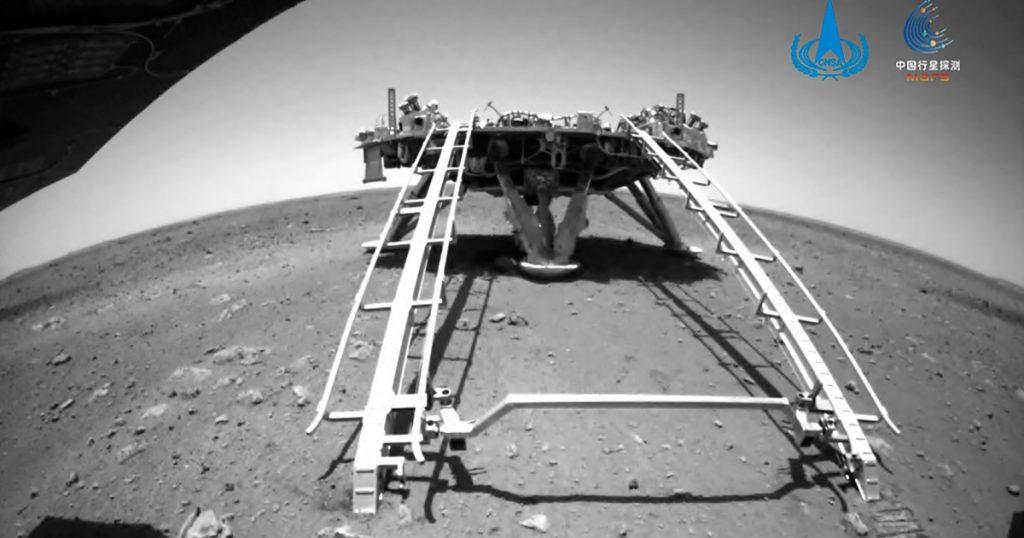 Wahana Mars China mengendarai kendaraan pertamanya di permukaan Planet Merah |  Berita Sains dan Teknologi