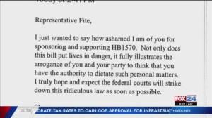 Kontraktor pemerintah dipecat setelah menulis pembuat undang-undang tentang undang-undang transgender - KNWA FOX24
