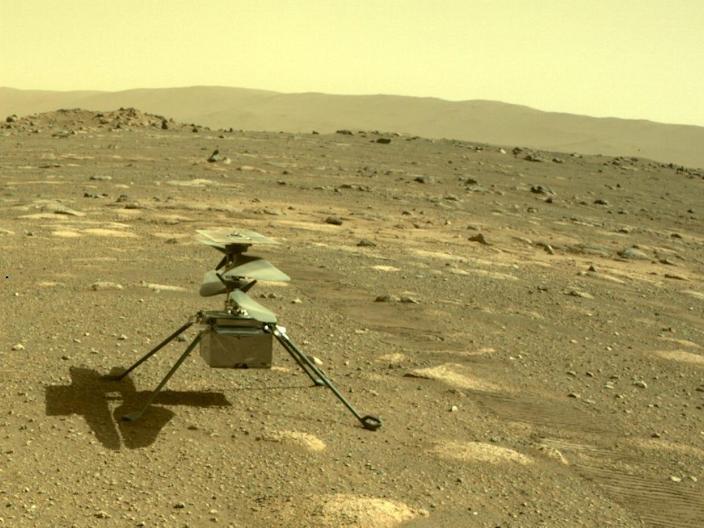 Kecerdasan helikopter Mars