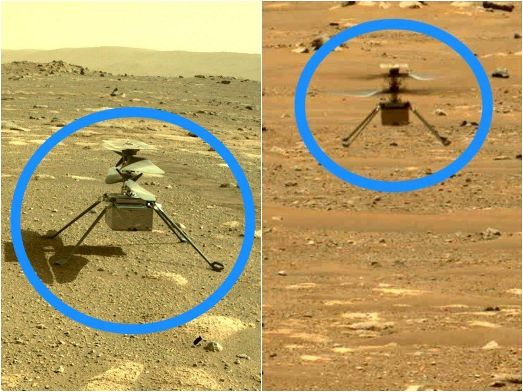 Helikopter Mars NASA Mendarat di Tempat Baru yang Belum Pernah Anda Lihat