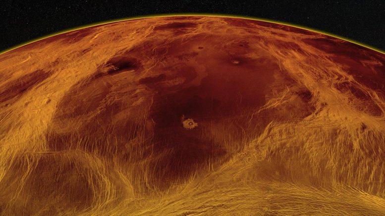 Massa Venus di dataran rendah