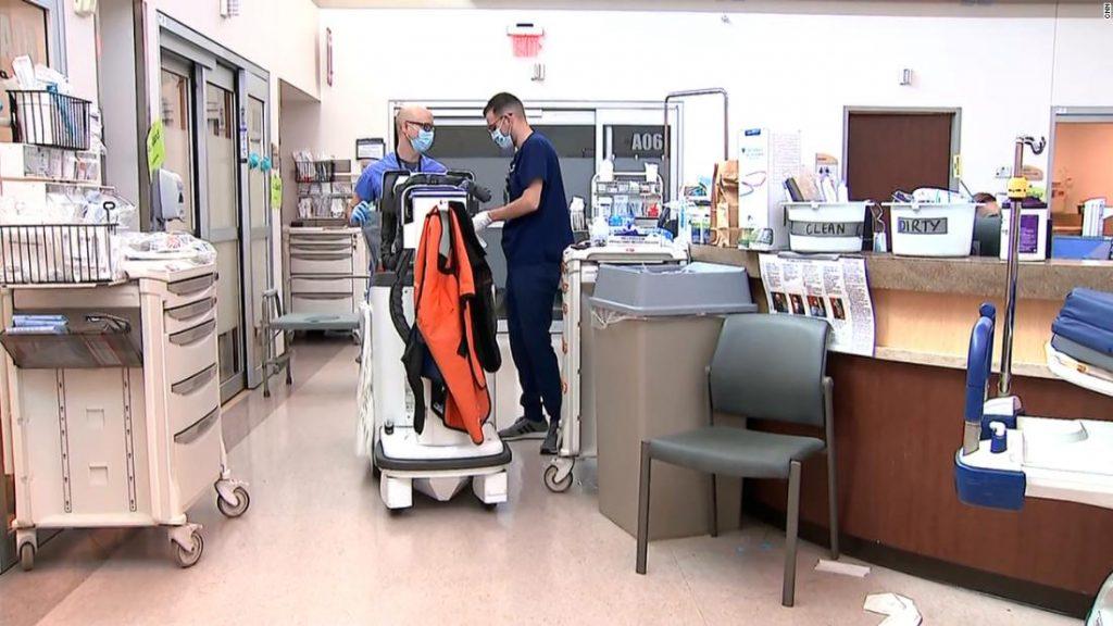 Missouri menjadi hotspot untuk variabel delta yang memicu masuk rumah sakit sementara upaya vaksinasi tertunda