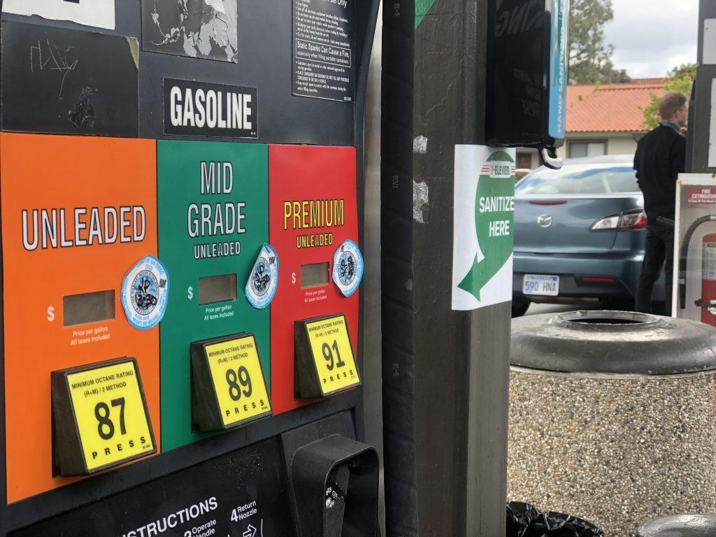 Harga gas rata-rata San Diego County mencapai tertinggi sejak 2014