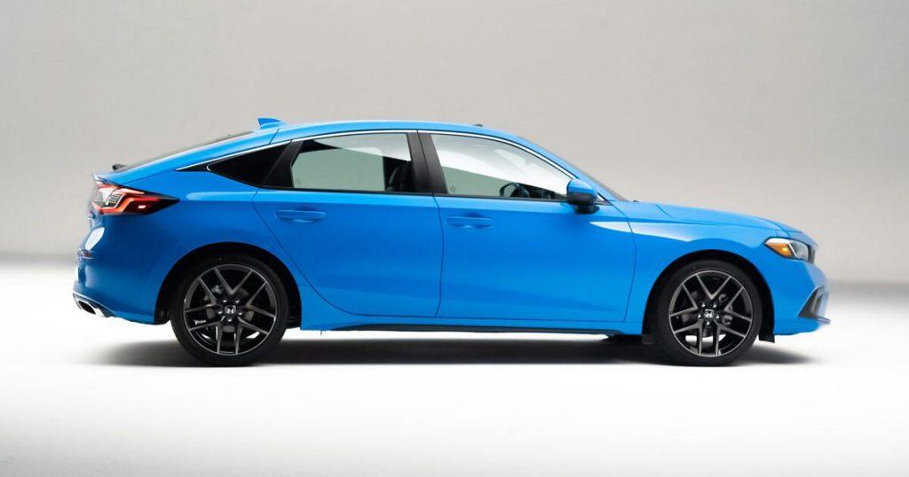 Honda Civic Hatchback 2022 elegan dan serbaguna