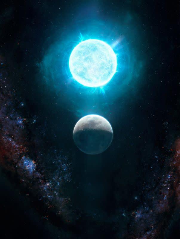 """Katai putih """"ekstrim"""" mencatat rekor kosmik dengan ukuran kecil dan massa besar"""