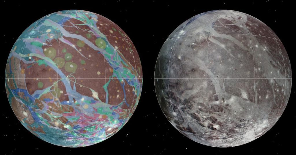 Penyelidikan Juno NASA akan mendekati bulan Jupiter Ganymede pada hari Senin