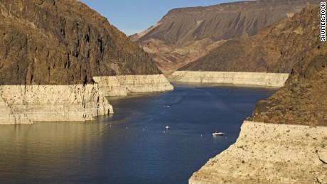 Angka mengejutkan di balik krisis kekeringan Danau Mead