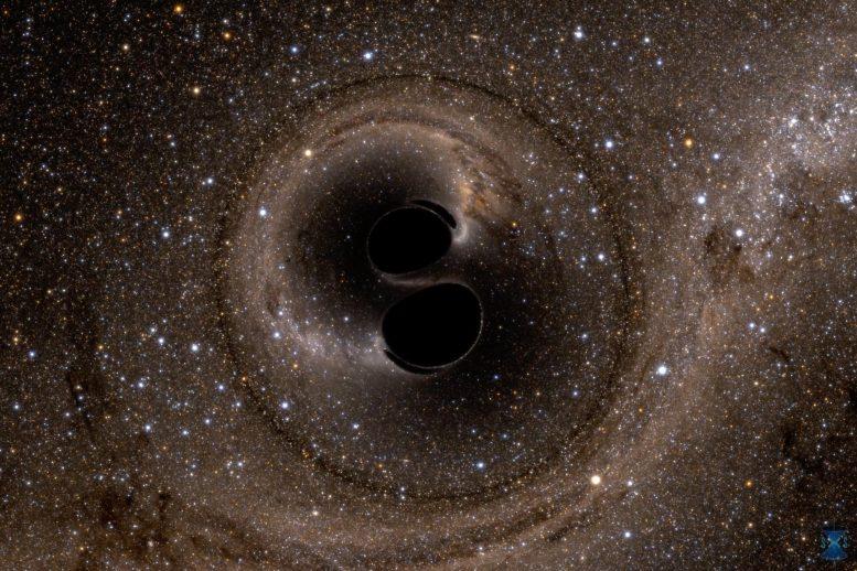 Tabrakan dua lubang hitam GW150914