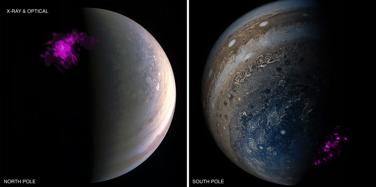 Sinar-X untuk Jupiter Aurora