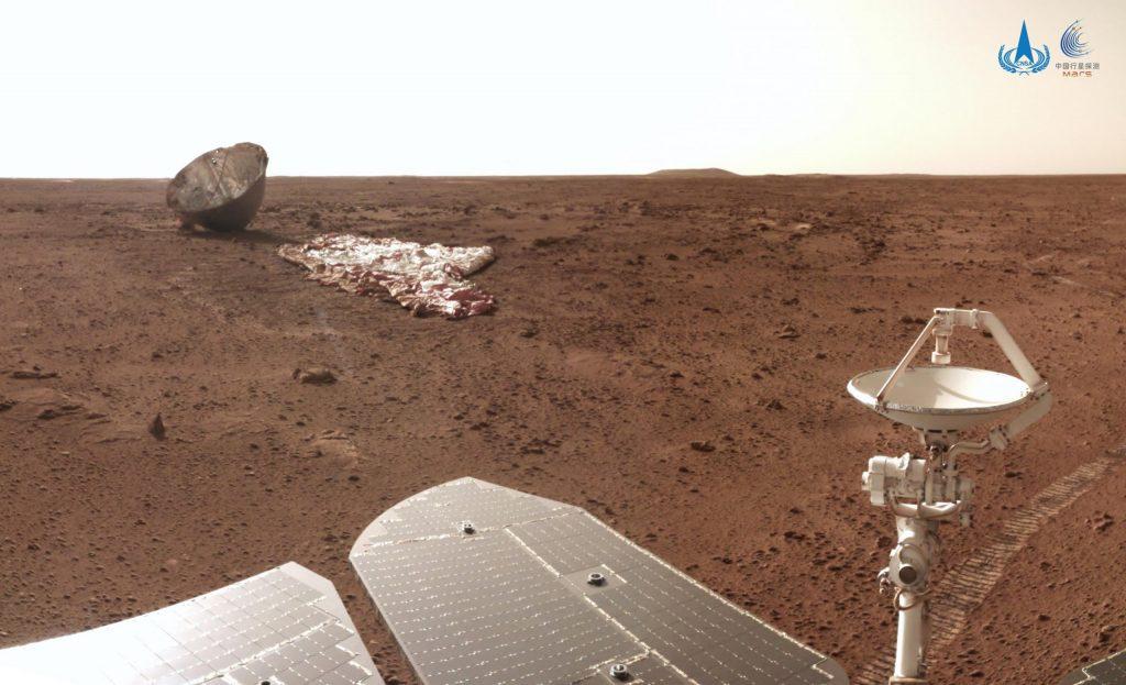 Gambar baru Mars dari Zhurong Rover China