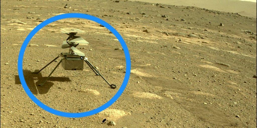 Helikopter Kreativitas Mars NASA telah mendarat di penerbangan ke-10, harapan ganda