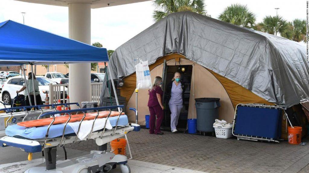 Coronavirus AS: Para ahli memperingatkan bahwa gelombang infeksi Covid-19 untuk orang yang tidak divaksinasi baru saja dimulai