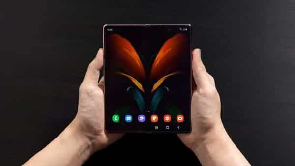 Foldable smartphones we have today are designed so that the chipset inside doesn't need to fold when the phone does. (REUTERS)