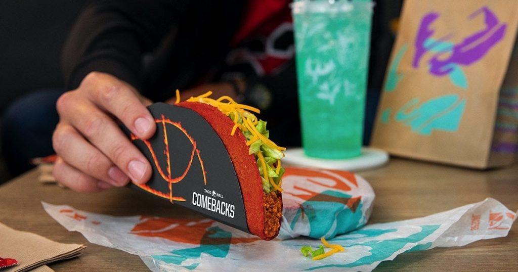 Cara mendapatkan Doritos Locos Taco Spicy dari Taco Bell tahun 2021