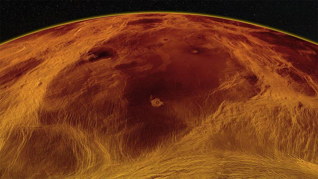 Cuaca malam terungkap di Venus untuk pertama kalinya