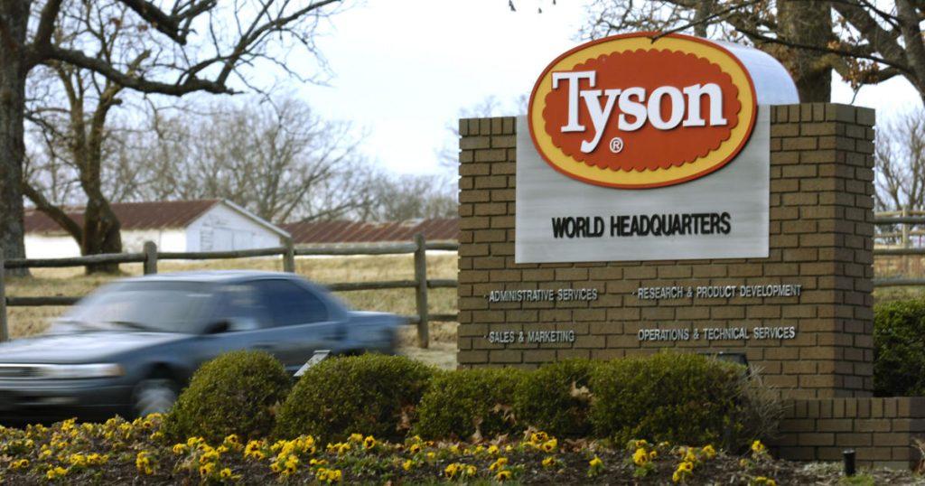 Penarikan ayam Tyson Foods meningkat menjadi hampir 9 juta pound karena risiko listeria