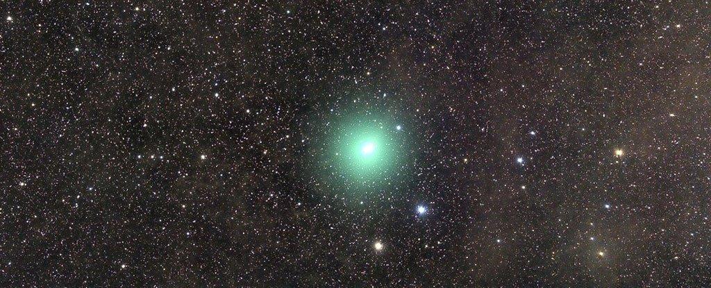 Visit Comet 46P / Wirtanen memiliki kandungan alkohol yang sangat tinggi