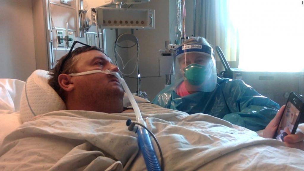 Ayah yang tidak divaksinasi mencatat hari-hari penyesalan di rumah sakit dan meminta putranya untuk meninggalkan putrinya di pernikahannya jika kematiannya