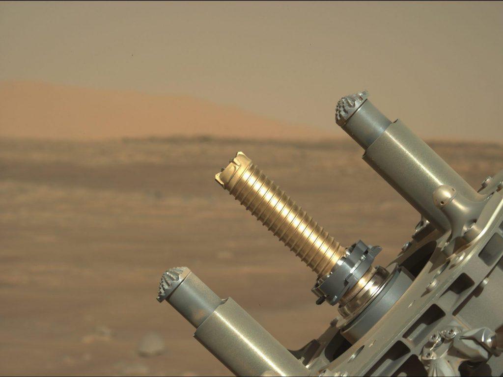 NASA tidak dapat menemukan sampel batuan Mars yang digali oleh penjelajah yang gigih