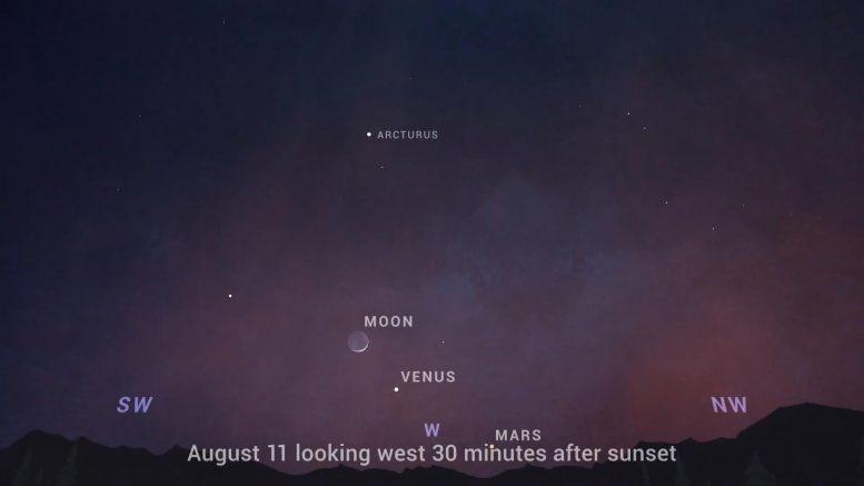 Astronomi Agustus 2021