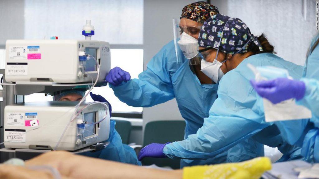 Penerimaan pasien Covid-19 di rumah sakit kembali meningkat, tetapi kali ini berbeda