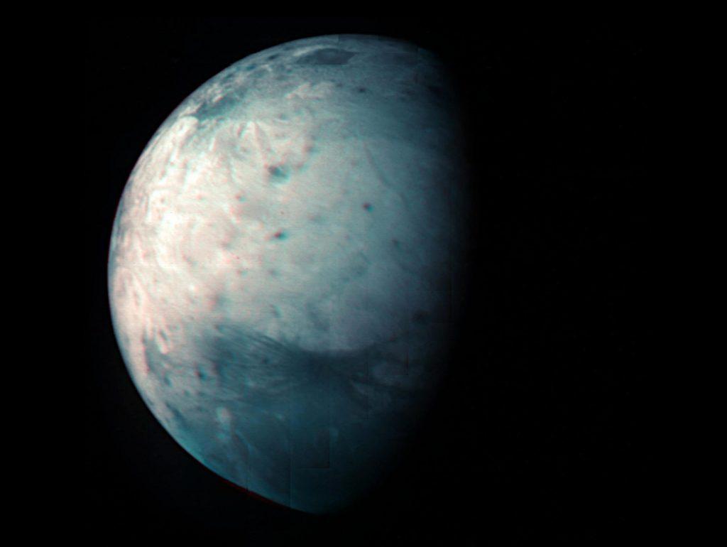 Juno NASA merayakan 10 tahun dengan tampilan inframerah baru dari Jovian Mammoth Moon Ganymede