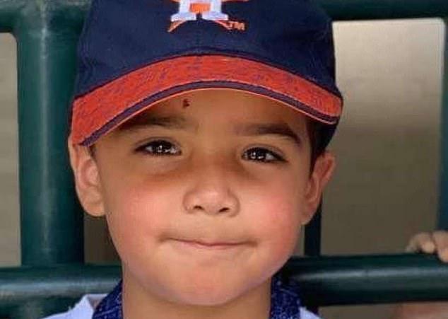 Josiah McIntyre (foto) baru berusia enam tahun ketika dia terinfeksi parasit mematikan yang sama seperti David Pruitt pada September 2020