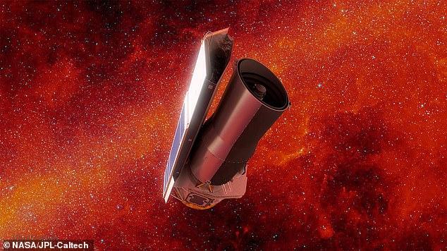 Para ahli dapat menemukan fitur tersebut dengan Teleskop Luar Angkasa Spitzer NASA (foto) - sebelum pensiun pada Januari 2020