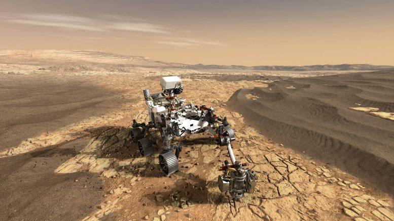 Presentasi Teknis NASA Perseverance Rover