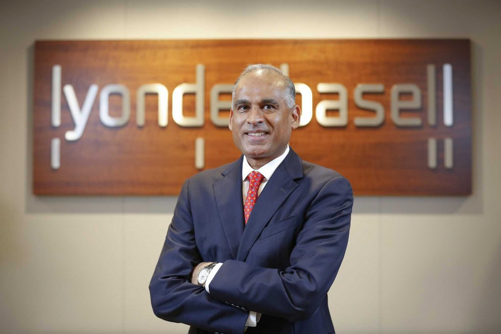 CEO LyondellBasell Bob Patel akan pensiun pada akhir tahun