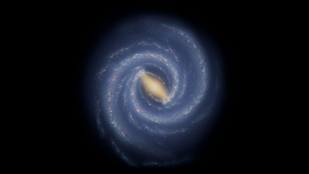 """Para astronom melihat """"sepotong"""" aneh di lengan spiral Bima Sakti"""