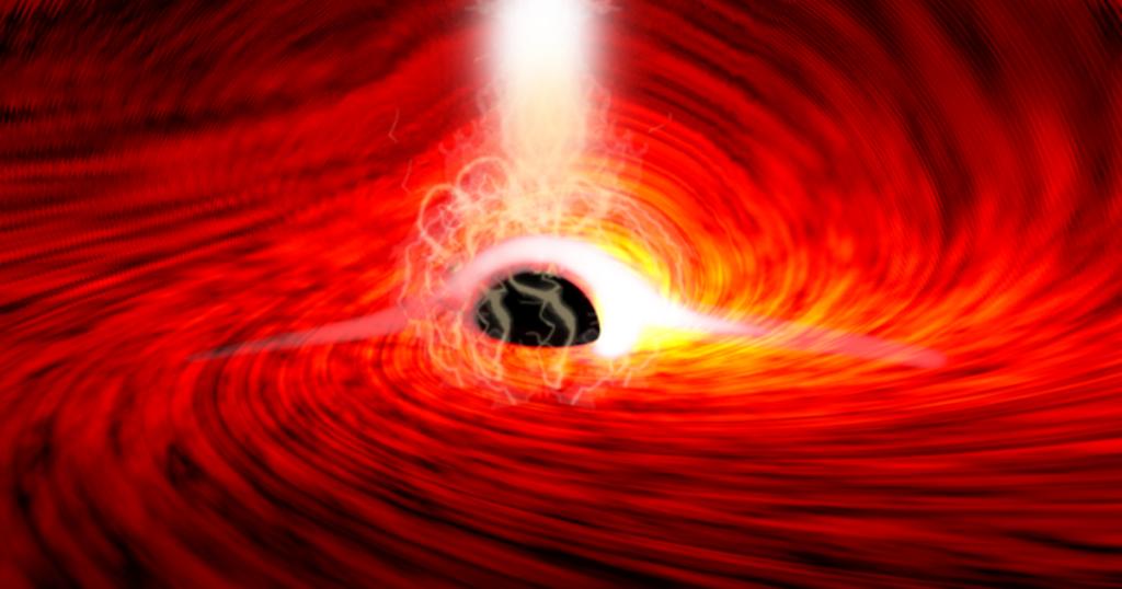 Para astronom telah mendeteksi cahaya dari balik lubang hitam untuk pertama kalinya - membuktikan Einstein benar, sekali lagi