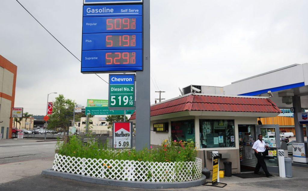 Harga gas Hari Buruh adalah yang tertinggi dalam beberapa tahun