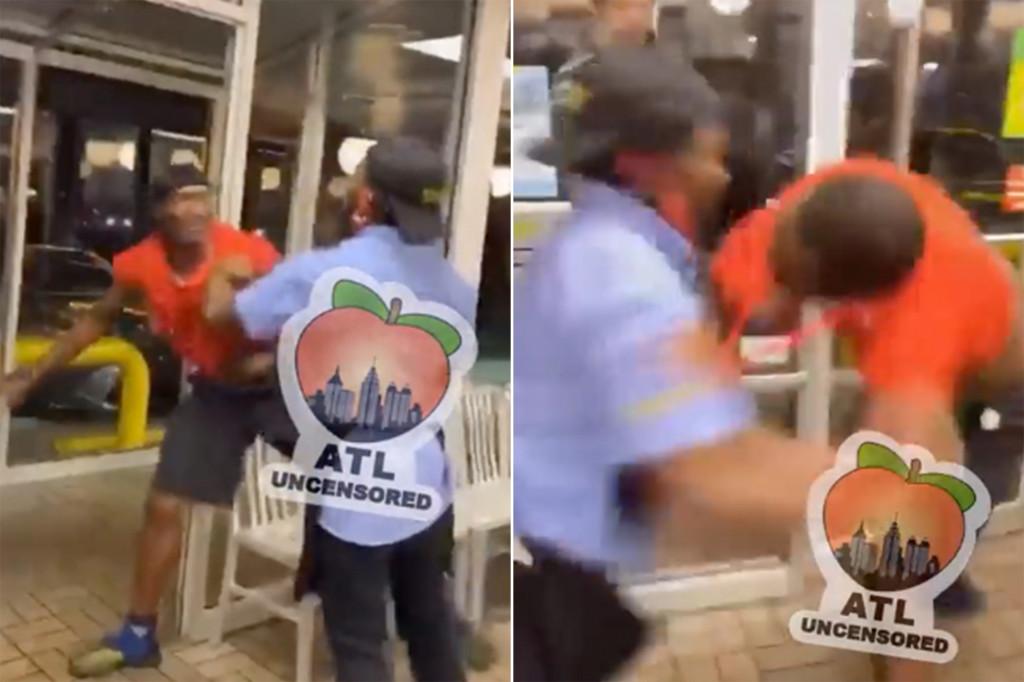 Pekerja rumah wafel, perkelahian antara pelanggan di luar Atlanta: video