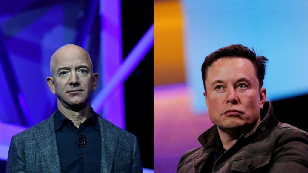 Elon Musk bangkit saat dia menuntut Jeff Bezos dalam perlombaan luar angkasa baru