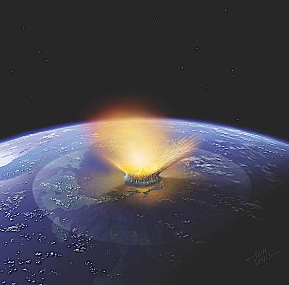 Kita mungkin tahu dari mana asal asteroid yang membunuh dinosaurus.  Bagaimana itu membantu kita?