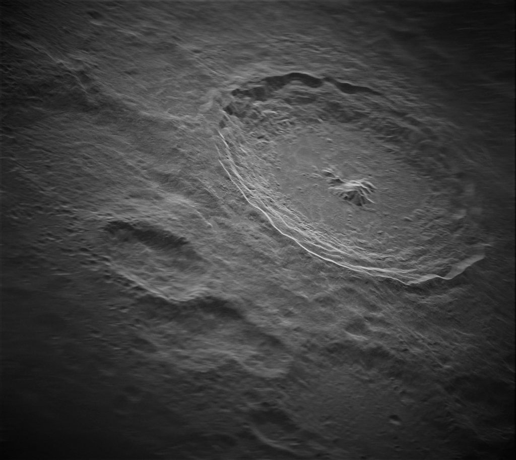 Kawah bulan Kawah Tycho terungkap dengan detail yang rumit - teknologi radar baru yang kuat akan mengungkap rahasia tata surya