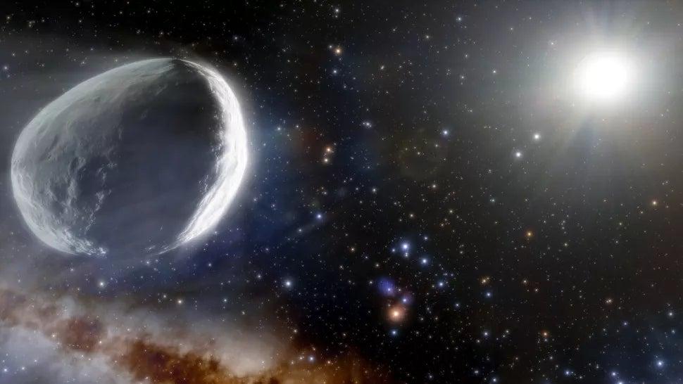 A Megacomet - Yang sangat besar, yang sebelumnya salah diidentifikasi sebagai planet kerdil!  Itu mendekati tata surya kita  The Weather Channel - Artikel dari The Weather Channel