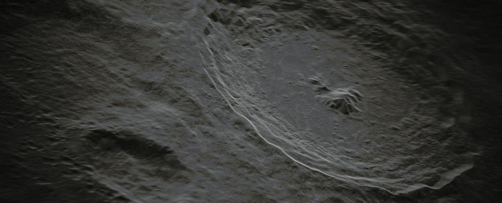 Foto baru bulan Tycho Carter yang gila ini sangat detail sehingga hampir tidak terlihat nyata