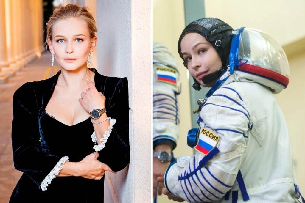 Seorang bintang Rusia sedang menuju ke Stasiun Luar Angkasa Internasional minggu depan untuk syuting film luar angkasa dunia pertama