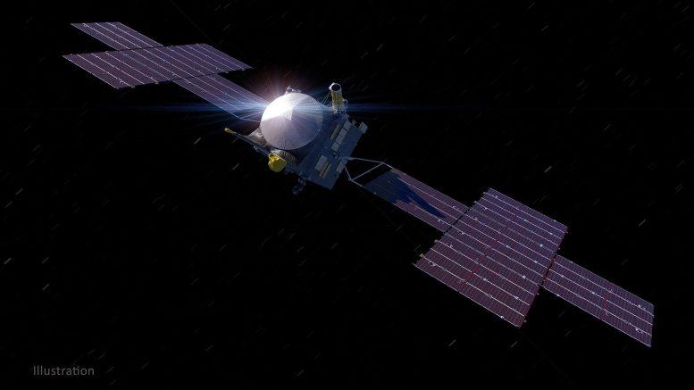 Ilustrasi NASA tentang pesawat ruang angkasa psikologis