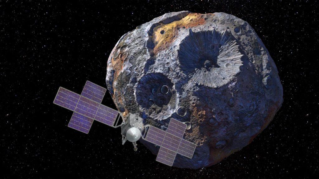 Pesawat Luar Angkasa Psikis NASA akan Menjelajahi Asteroid Unik untuk Bukti Awal Tata Surya